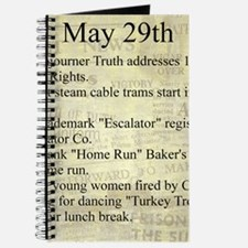 May 29th Journal