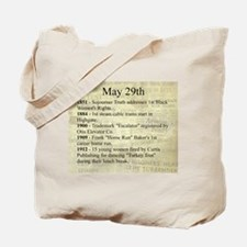 May 29th Tote Bag
