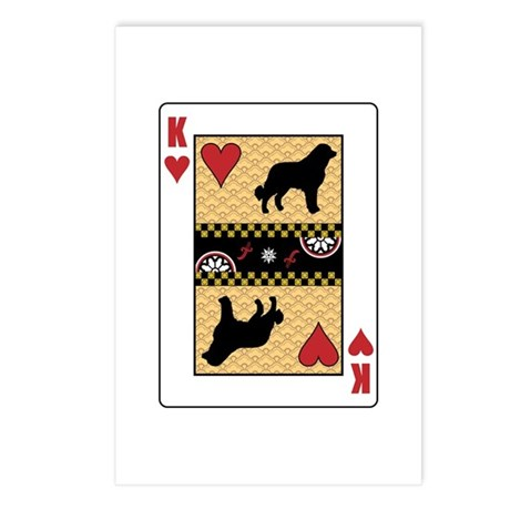 King Caucasian Postcards (Package of 8)