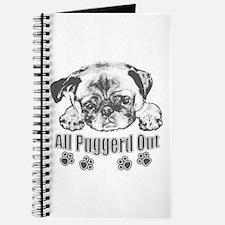 Puggerd out pug Journal