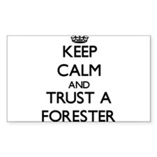 Keep Calm and Trust a Forester Decal