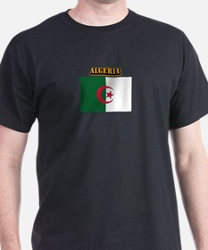 Flag of Algeria with Text T-Shirt