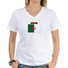 Flag of Algeria with Text Shirt