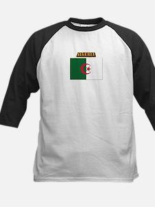 Flag of Algeria with Text Tee
