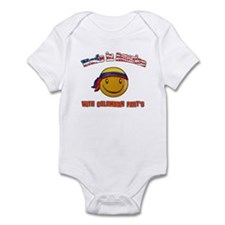 Made in USA with Colombian part's Infant Bodysuit