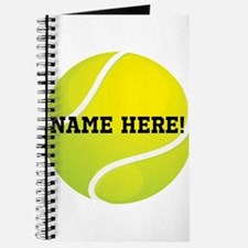 Personalized Tennis Ball Journal