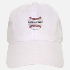 Personalized Baseball Red/White Baseball Baseball Cap