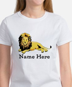 Personalized Lion Tee