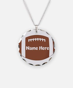 Personalized Football Ball Necklace