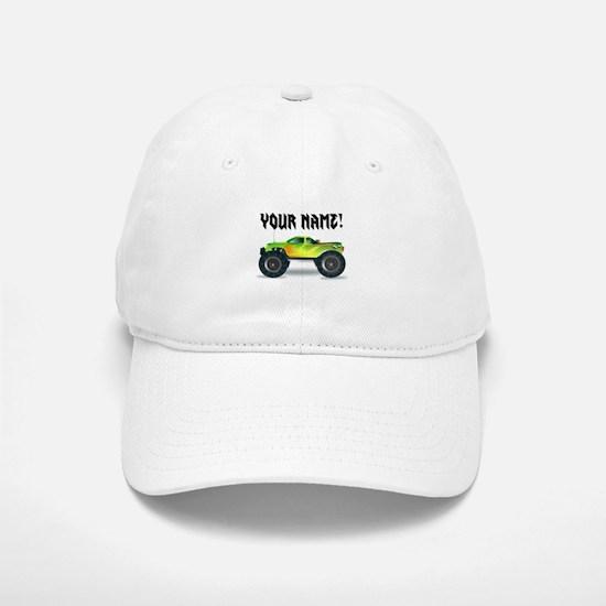 Personalized Monster Truck Baseball Baseball Cap