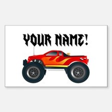 Personalized Monster Truck Decal