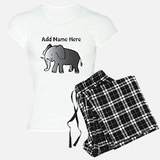 Personalized Elephant Pajamas