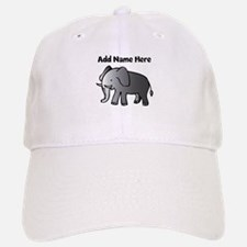 Personalized Elephant Baseball Baseball Cap