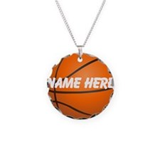 Personalized Basketball Ball Necklace