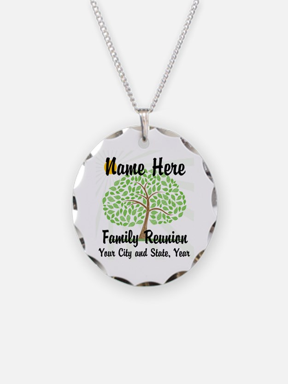 Customizable Family Reunion Necklace