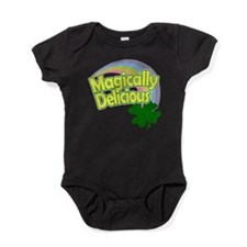Magically Delicious Pastel Rainbow Baby Bodysuit