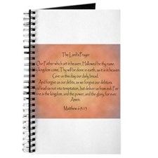The Lord's Prayer Christian Journal
