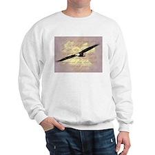 Wings as Eagles Bible Verse Sweatshirt