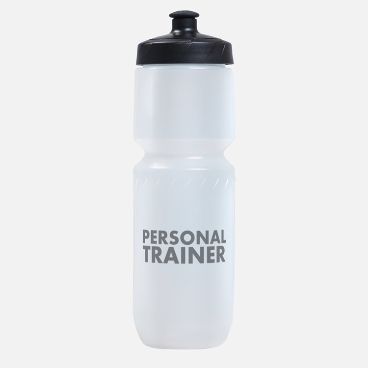 Personal Trainer Black/White Sports Bottle