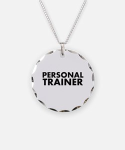 Personal Trainer Black/White Necklace