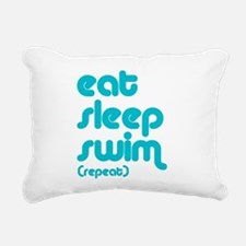 swim solo Rectangular Canvas Pillow