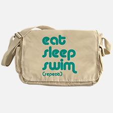 swim solo Messenger Bag