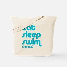 swim solo Tote Bag