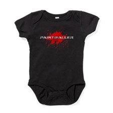paintball paint baller Baby Bodysuit