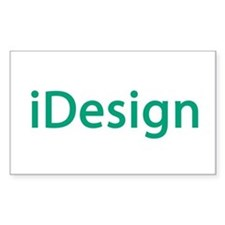 i design interior designer architect Decal