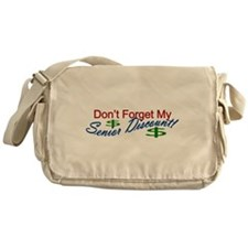 senior discount Messenger Bag