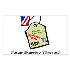 tea party revolt Decal