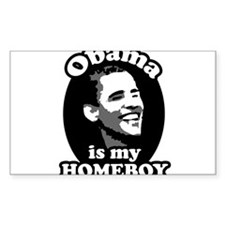 obama is my homeboy Decal