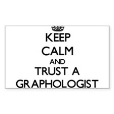 Keep Calm and Trust a Graphologist Decal