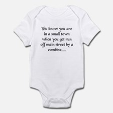Small Towns and Tractors! Infant Bodysuit