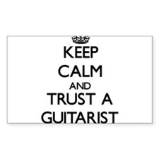 Keep Calm and Trust a Guitarist Decal