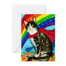 The Mighty Tux Greeting Cards