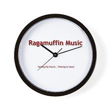 Unique Ragamuffin Wall Clock