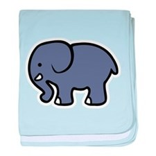 Cute Elephant baby blanket