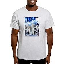 Crocus in infrared sunlight T-Shirt
