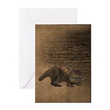 Abelisaurus 2 Greeting Cards