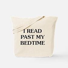 I Read Past Tote Bag