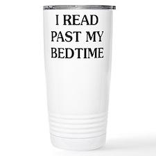 I Read Past Travel Mug