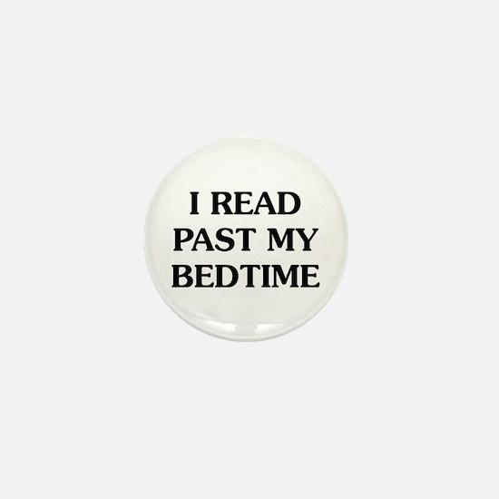 I Read Past Mini Button