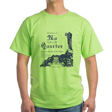 No Quarter-BG 11x14-blue NoBorder.jpg T-Shirt