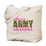 Army grandma Canvas Tote Bag