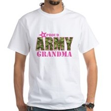 Camo Proud Army Grandma Shirt
