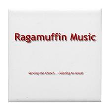 Cute Ragamuffin Tile Coaster