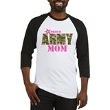 Army mom Baseball Tee