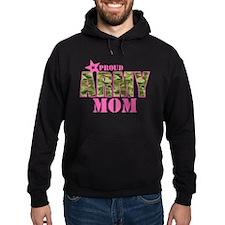 Camo Proud Army Mom Hoodie