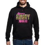 Army mom Hoodie (dark)